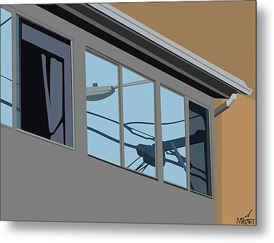 Power Windows Metal Print