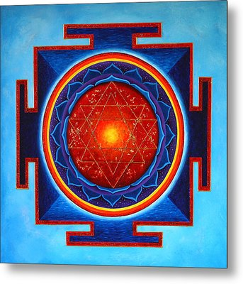 Power Yantra Metal Print