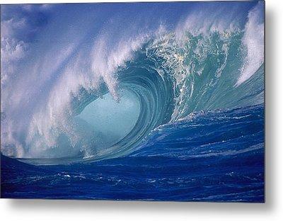 Powerful Surf Metal Print