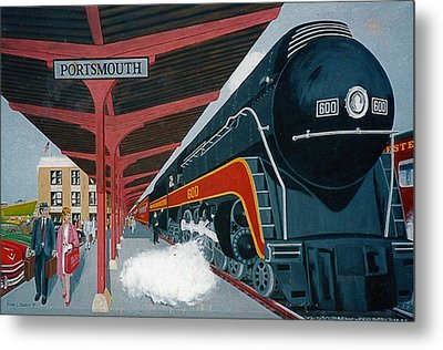 Powhattan Arrow At Portsmouth Metal Print