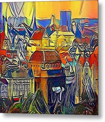 Prague City - My Www Vikinek-art.com Metal Print