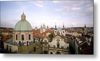 Prague Twilight Metal Print