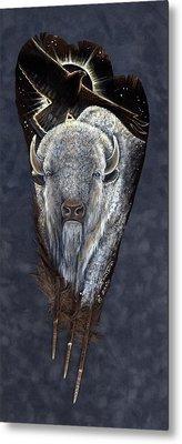 Prairie Eclipse Metal Print by Sandra SanTara