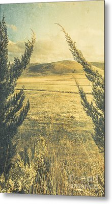 Prairie Hill Metal Print by Jorgo Photography - Wall Art Gallery