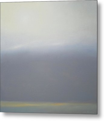 Prairie Winter Metal Print by Cap Pannell