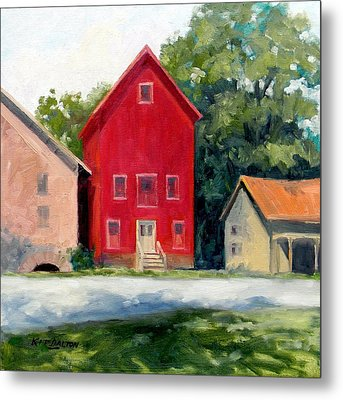 Prallsville Mill Summer Metal Print by Kit Dalton