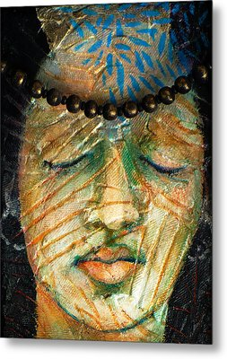 Prayers For The Ancestors Metal Print by Sue Reed
