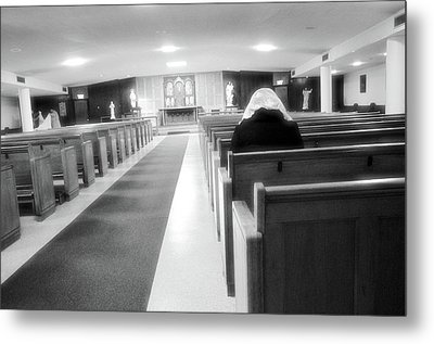 Metal Print featuring the photograph Praying In Peace by Jeanette O'Toole