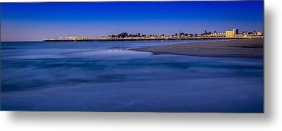 Pre Dawn In Santa Cruz Metal Print by Steve Spiliotopoulos