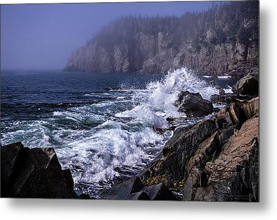 Pre Irene Surge Metal Print by Marty Saccone