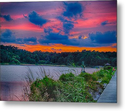 Metal Print featuring the photograph Pre-sunset At Hbsp by Bill Barber