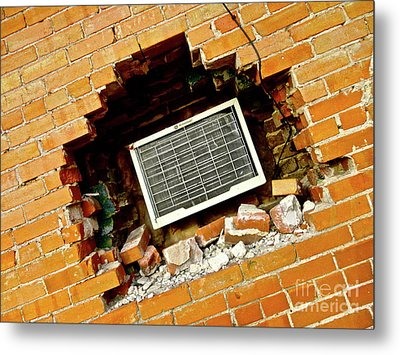 Precise Installation Metal Print by Chuck Taylor