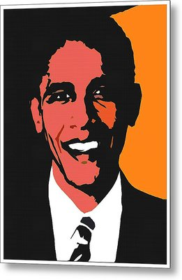 President Barack Obama 2 Metal Print by Otis Porritt