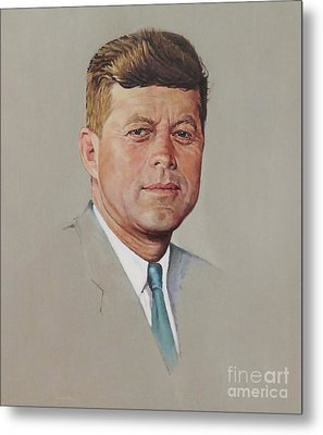 portrait of a President Metal Print