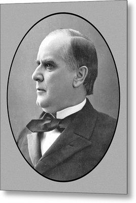 President Mckinley Metal Print by War Is Hell Store