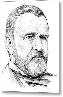 President Ulysses S Grant Metal Print by Greg Joens