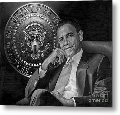 Presidential Seal Metal Print by Raoul Alburg