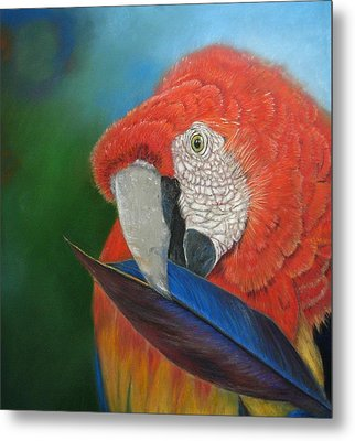 Metal Print featuring the painting Presumida by Ceci Watson