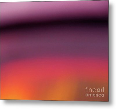 Metal Print featuring the photograph Pretend Sunset by CML Brown