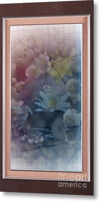 Pretty As Pink Metal Print by Luisa Estell