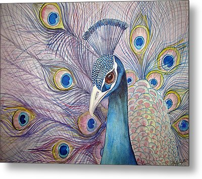 Pretty Boy Metal Print by Martha Ayotte