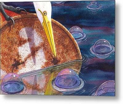 Pretty Colors Metal Print by Catherine G McElroy