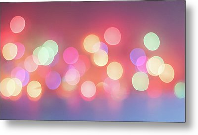 Pretty Pastels Abstract Metal Print by Terry DeLuco