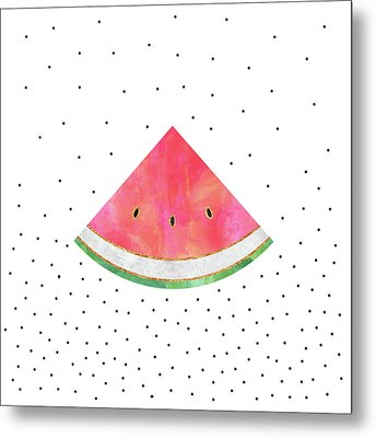 Pretty Watermelon Metal Print by Elisabeth Fredriksson