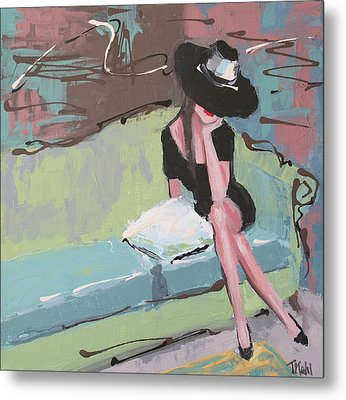 Pretty Woman Metal Print