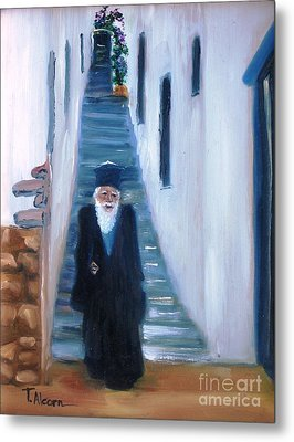 Priest Of Pothia Metal Print by Therese Alcorn