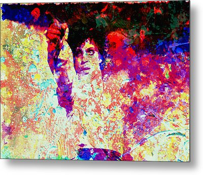 Prince Metal Print by Brian Reaves