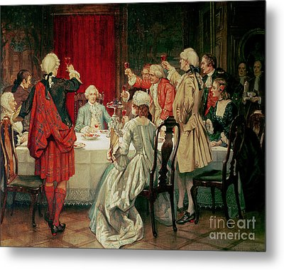 Prince Charles Edward Stuart In Edinburgh Metal Print