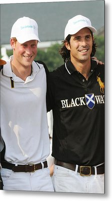 Prince Harry, Nacho Figueras Metal Print by Everett