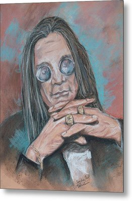 Prince Of Darkness Metal Print by Sandra Valentini