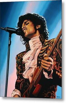 Prince Painting Metal Print by Paul Meijering
