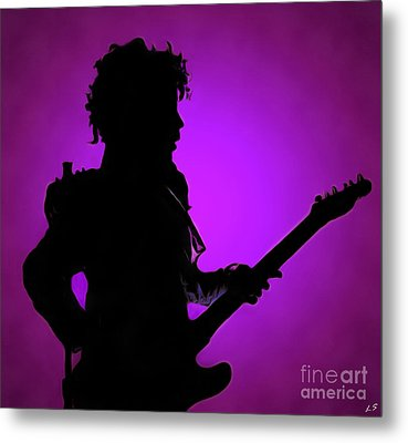 Prince Rogers Nelson Metal Print by Sergey Lukashin