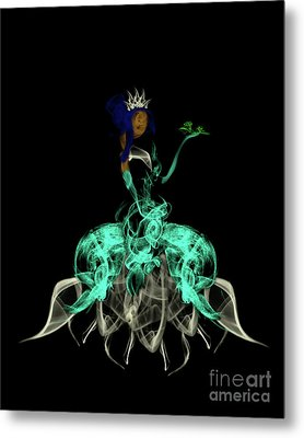 Princess And The Frog Metal Print