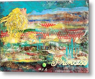 Princess And The Pea Metal Print by Jennifer Kelly