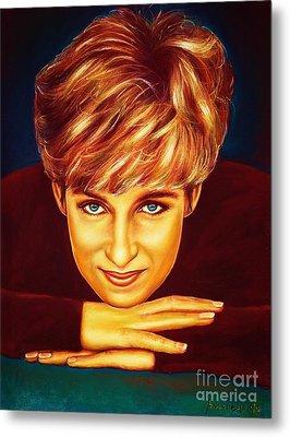 Princess Diana  Metal Print by Anastasis  Anastasi