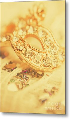 Princess Pendant Metal Print