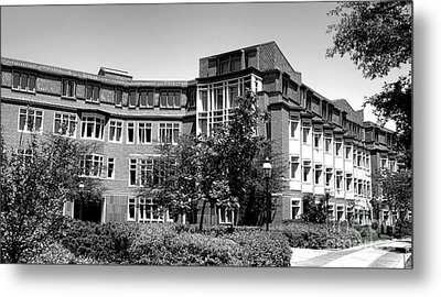 Princeton University Bloomberg Hall  Metal Print by Olivier Le Queinec