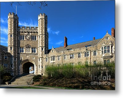 Princeton University Buyers Hall  Metal Print by Olivier Le Queinec
