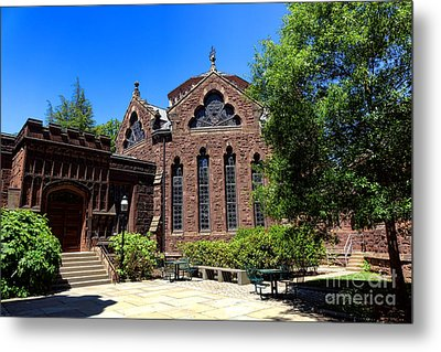 Princeton University East Pyne Hall Chancellor Green Library  Metal Print by Olivier Le Queinec