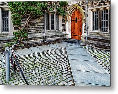 Metal Print featuring the photograph Princeton University Foulke Hall by Susan Candelario
