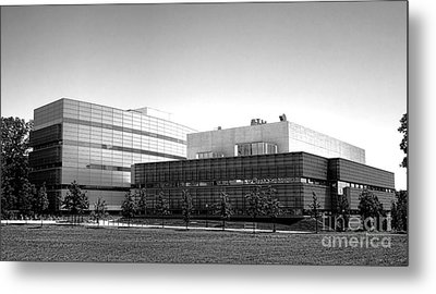 Princeton University Neuroscience Institute And Peretsman Scully Metal Print by Olivier Le Queinec