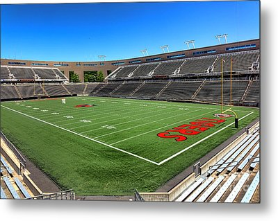 Princeton University Stadium Powers Field Metal Print by Olivier Le Queinec