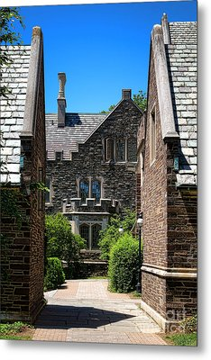 Princeton University Wright Hall Metal Print by Olivier Le Queinec