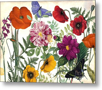 Printemps Garden Metal Print by Mindy Sommers
