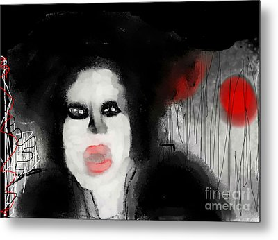 Priscilla  Queen Of The Night Metal Print by Rc Rcd
