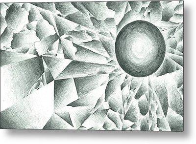 Prismatic Eclipse Metal Print by Ty DAvila